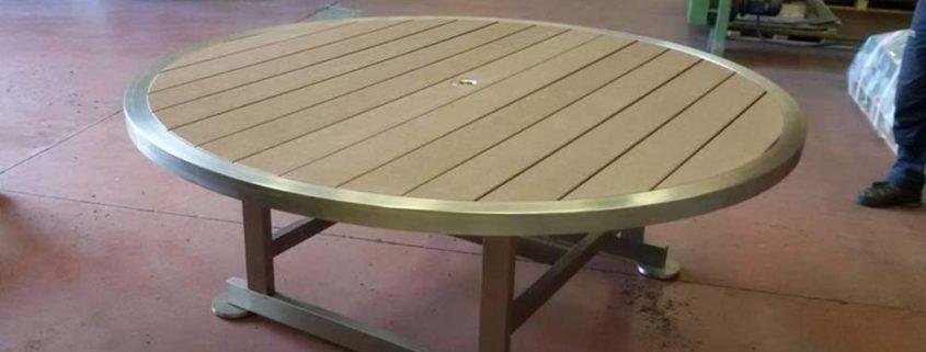 Progettazione tavoli legno e acciaio